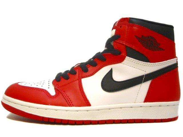 AIR JORDAN 1 1994 white/black-red