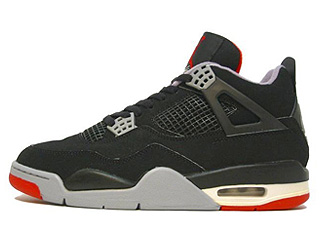 AIR JORDAN 4 RETRO 1999 black/cement grey