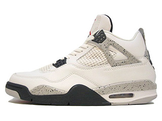 AIR JORDAN 4 RETRO 1999 white/black