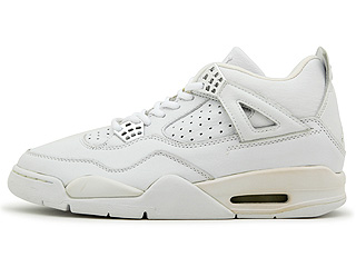 AIR JORDAN 4 RETRO white/white-chrome
