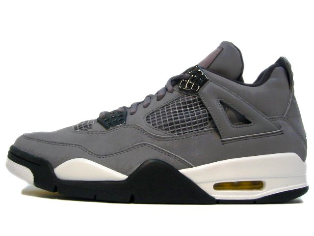 AIR JORDAN 4 RETRO cool grey/chrome-dark charcoal-varsity maize
