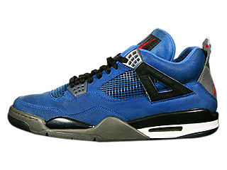 AIR JORDAN 4 RETRO eminem encore blue/red-black