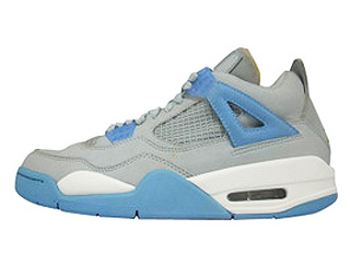 AIR JORDAN 4 RETRO LS mist blue/university-gold leaf-white
