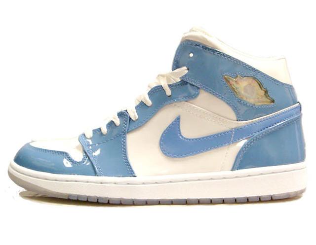 AIR JORDAN 1 RETRO PATENT 2003 white/university blue