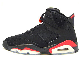 AIR JORDAN 6 RETRO + infrared black/deep infrared
