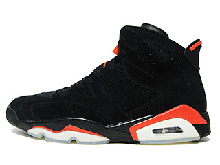AIR JORDAN 6 RETRO infrared pack black/infrared