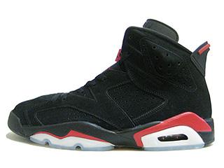 AIR JORDAN 6 RETRO black/varsity red