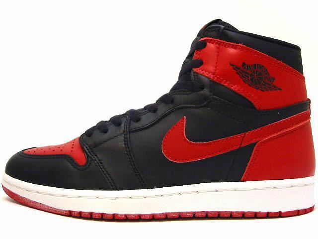 AIR JORDAN 1 1994 black/red