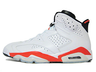 AIR JORDAN 6 RETRO infrared pack white/infrared-black