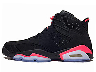 AIR JORDAN 6 RETRO INFRARED 2014 black/infrared 23-black