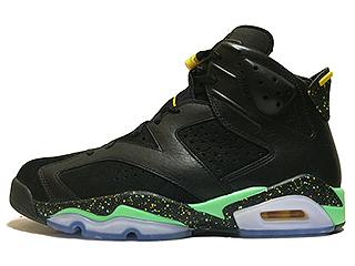 AIR JORDAN 6 RETRO BRAZIL PACK black/green-yellow