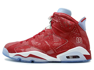 AIR JORDAN 6 RETRO X SLAMDUNK SLAM DUNK varsity red/varsity red-white