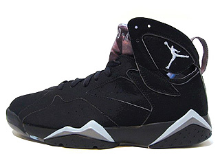 AIR JORDAN 7 RETRO black/chambray-lt graphite