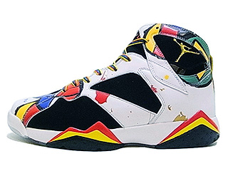 AIR JORDAN 7 RETRO OC miro olympic white/sport red-blck-mtllc gld