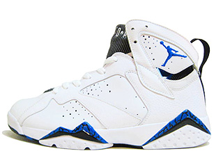 AIR JORDAN 7 RETRO defining moments white/varsity royal-black