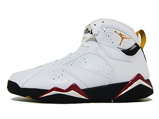 AIR JORDAN 7 RETRO cardinal white/black cardinal-red bronze