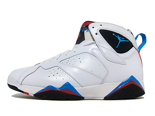 AIR JORDAN 7 RETRO orion white/orion blue- black- infrared