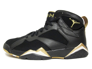 AIR JORDAN 7 RETRO golden moments package black/metallic gold-white