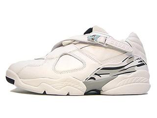 AIR JORDAN 8 RETRO LOW white/chrome-silver