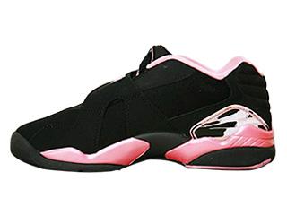 JORDAN 8 RETRO LOW GS black/real pink-white