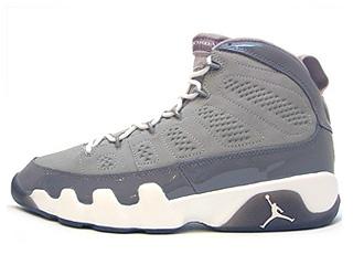 AIR JORDAN 9 RETRO cool grey medium grey/white-cool grey