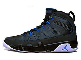 AIR JORDAN 9 RETRO photo blue black/white-photo blue