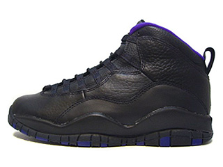 AIR JORDAN 10 (OG) sacramento black/dark concord-metallic silver