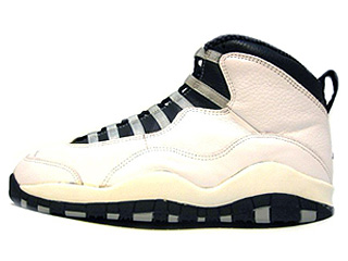 AIR JORDAN 10 (OG) white-black-light steel grey