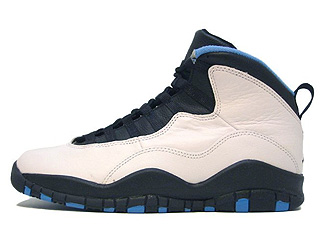 AIR JORDAN 10 (OG) white/black-dark powder blue