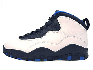 AIR JORDAN 10 (OG) new york white/black-royal-orange flame