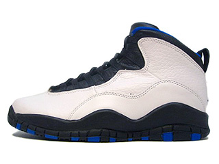 AIR JORDAN 10 (OG) orlando magic wht/blk-royal-metallic silver