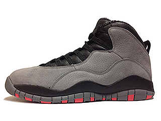 AIR JORDAN 10 COOL GREY cool grey/infrared-black
