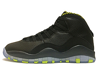 AIR JORDAN RETRO 10 VENOM black/vnm green-cl gry-anthrct