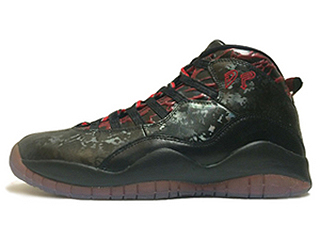 AIR JORDAN 10 RETRO DB DOERNBECHER black/gym red