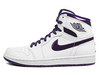 AIR JORDAN 1 RETRO HI do the right thing white/grand purple