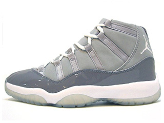 AIR JORDAN 11 RETRO cool grey medium grey/white-cool grey