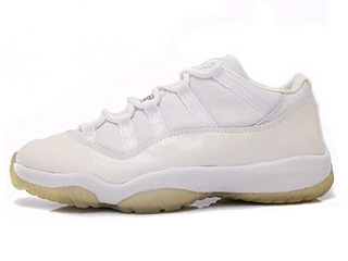 AIR JORDAN 11 RETRO LOW white/light zen grey