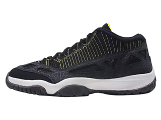 AIR JORDAN 11 RETRO LOW black/zest-white