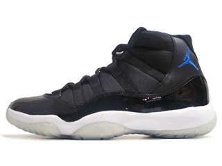 AIR JORDAN 11 RETRO space jam black/varsity royal-white