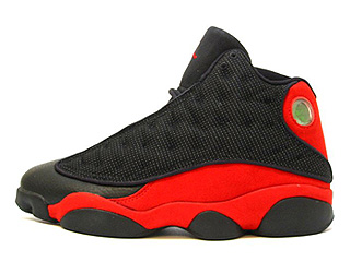 AIR JORDAN 13 (OG) black/true red