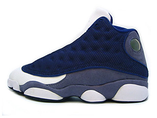 AIR JORDAN 13 (OG) navy/carolina blue-flint grey-white