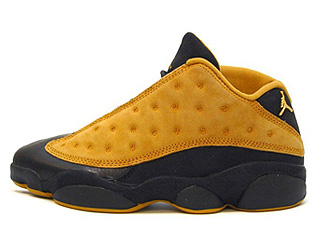 AIR JORDAN 13 LOW (OG) black/chutney