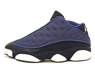 AIR JORDAN 13 LOW (OG) navy/metallic silver-black-carolina blue