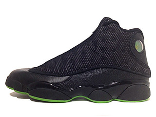 AIR JORDAN RETRO 13 altitude black/altitude green