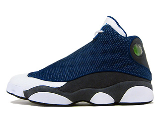 AIR JORDAN RETRO 13 flint french blue/university blue-flint grey