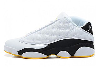 AIR JORDAN 13 RETRO LOW white/met-silver-black-v-maize