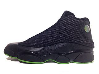 AIR JORDAN 13 RETRO altitude black/altitude green