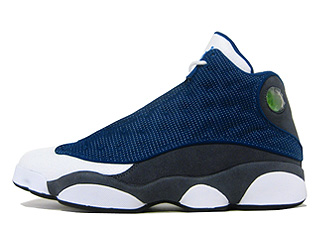 AIR JORDAN 13 RETRO flint frnch bl/unvrsty bl-flnt gry-w