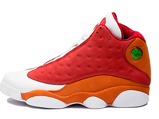 AIR JORDAN RETRO 13 PREMIO bin 23 team red/desert clay-white
