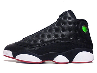 AIR JORDAN 13 RETRO playoff blk/vrsty rd-white-vbrnt yllw